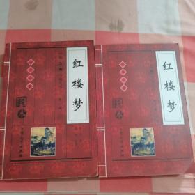 中国古典小说大系.第一辑:四大名著 红楼梦【内页干净】