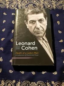 【绝版书】Leonard Cohen:《Death of a Lady's Man: A Collection of Poetry and Prose》 莱昂纳德·科恩(伦纳德·科恩):《一个女士的男人之死:诗与散文诗集》(英文原版)