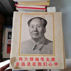 伟大领袖毛主席永远活在我们心中(水印)