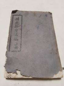 文革时期带语录的油印本厚厚一册 河南 传统验方选编