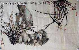 【终身保真字画】曹环义85*56cm!      曹环义,字心梅,号啸堂主,出生于河北省高阳县莘桥村。两岁时随父母定居北京自幼酷爱绘画艺术,十四岁时受教于著名国画大师李苦禅先生,研习传统笔墨。作品以虎著称,独树一帜且能工能写,粗处并不狂怪悖理,细处总原不失其毫芒,小幅作品巨细有致生机勃发。巨制百虎姿情各异,栩栩如生。