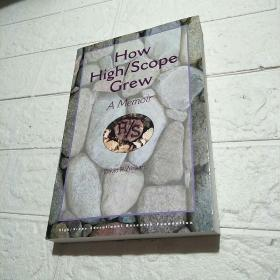 HOW HIGH SCOPE GREW A MEMOIR (平装 大32开 详情看图)