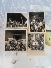 广东肇庆老照片   1962年庆云寺  七星岩老照片4张