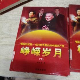崛起的征程—走向世界舞台的中国共产党(峥嵘岁月上下,横空出世上下)