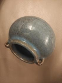 宋元钧窑小瓷罐