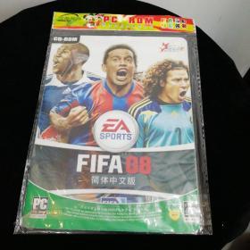 FIFA08,简体中文版游戏光盘