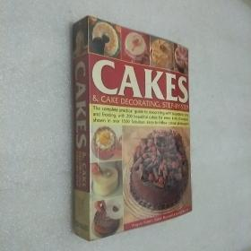 CAKES  & CAKE DECORATING ,STEP-BY-STEP