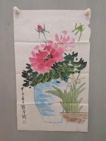 张金锜国画作品一幅
