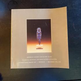 苏富比 伦敦 1979年12月13日 古代玻璃专场拍卖图录 Ancient Glass.  richard reedy 专场