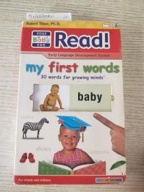 your baby can read! my first words