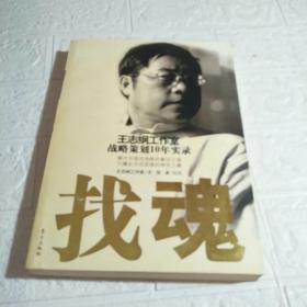 找魂:王志纲工作室战略策划10年实录  书发黄,品看图