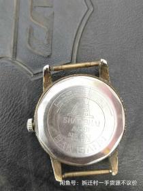 上海A581手表,品差如图,表盖坏,表带无,不走需要修,价格320不议价