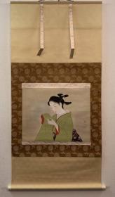 日本回流 精品【美人画】人物画美人,日式美人,伊东深水,上村松园,镝木清方。