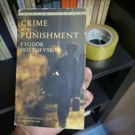 Crime and Punishment:罪与罚 Bantam Classic— Fyodor Dostoevsky 陀思妥耶夫斯基 英文原版