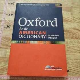 Oxford Basic American Dictionary for learners of English  【有光盘】