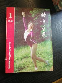 体育之春1985年1~4、6~12<少第五期,11本合拍>