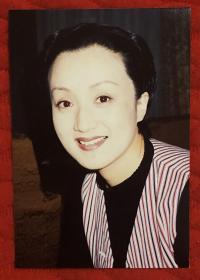 著名女演员 杨昆 老照片一枚附底片