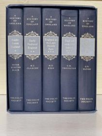 History of England 五卷箱装  folio society 出版
