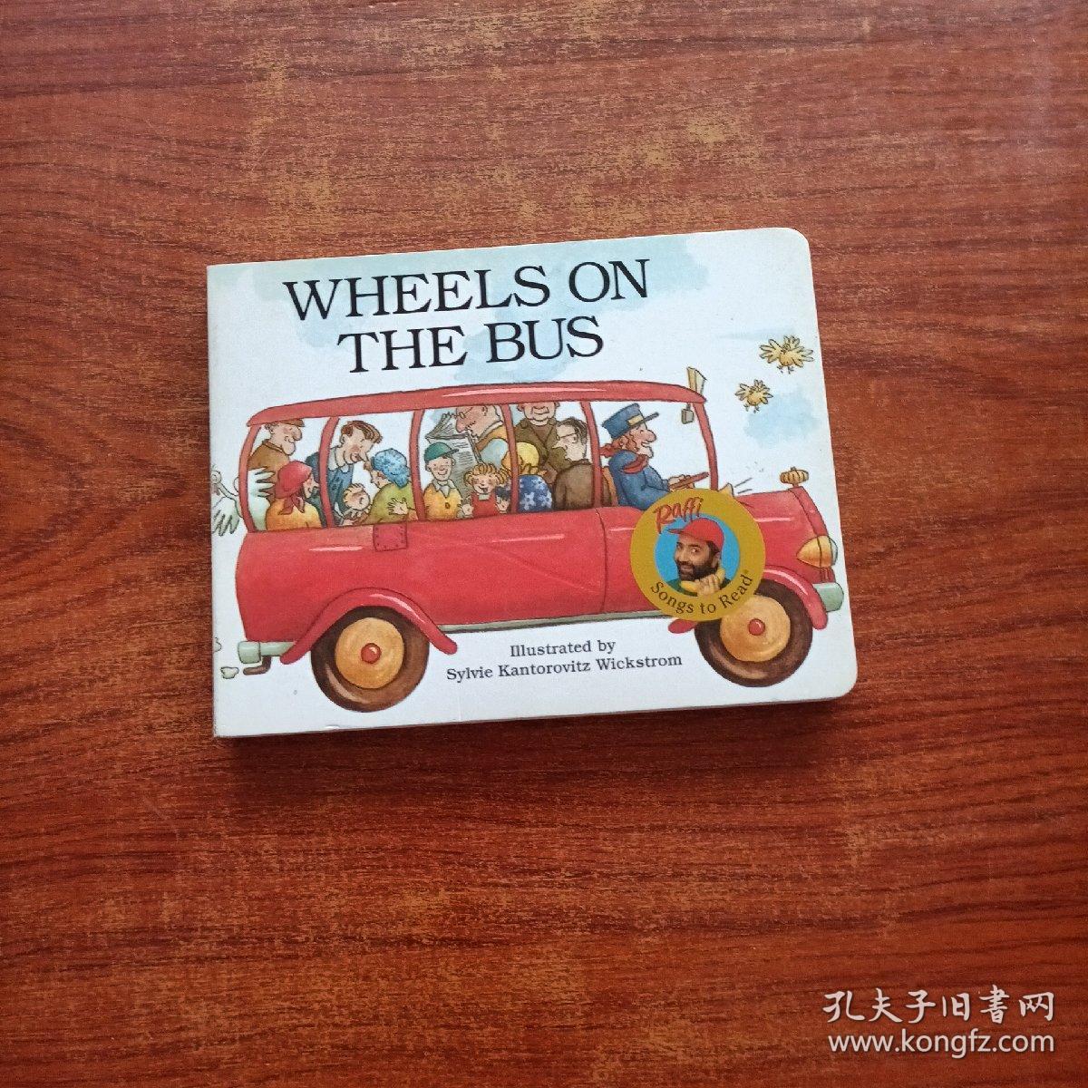 Wheels on the Bus公车上的轮子 英文原版