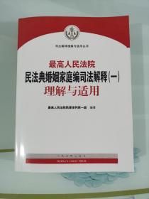 最高人民法院民法典婚姻家庭编司法解释(一)理解与适用