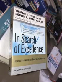 In Search of Excellence:Lessons from America's Best-Run Companies