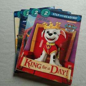 STEP INTO READING 2 (4册合售)