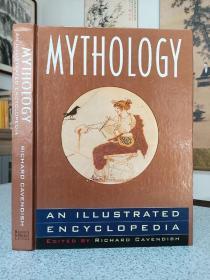 1993年,英文原版,精装版大开本,图解神话百科全书,mythology,an illustrated encyclopedia