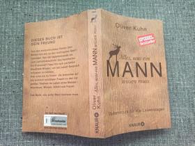 【德文原版书】Alles,was ein MANN wissen muss(男人需要知道的一切)【品好】