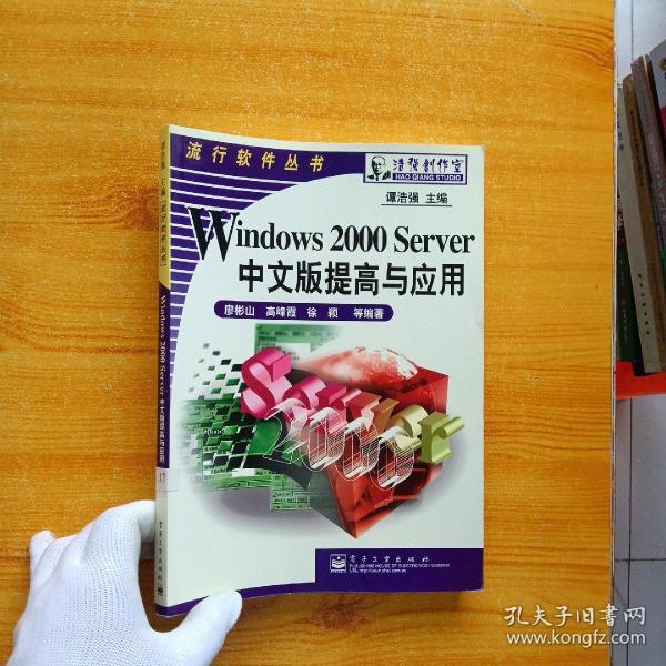 Windows 2000 Server中文版提高与应用【内页干净】