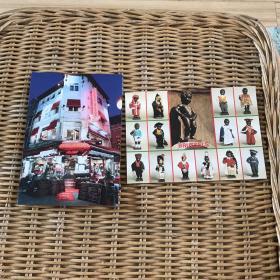 外国明信片2张合售