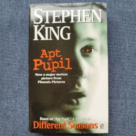 Apt Pupil:A Novella in Different Seasons 电影 《纳粹追凶》英文原版小说