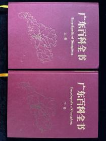 广东百科全书  上下卷全