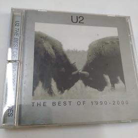 VCD  DVD/cD/光碟: : U2 THE BEST OF 1990一2000    DVD2碟  精装