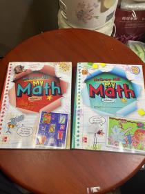 McGraw-Hill My math volume 1    (1+2两本合售看图)