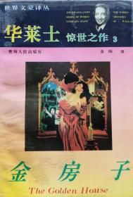 《华莱士惊世之作3:金房子》惊险小说,94年1版1印,正版8成5新
