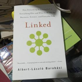 链接:商业、科学与生活的新思维 英文原版 Linked 网络科技 Barabasi-