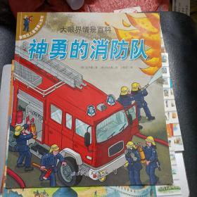 新概念儿童情景认知书·大眼界情景百科:神勇的消防队