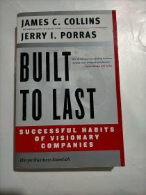 Built to Last:Successful Habits of Visionary Companies ( Harper Business  Essentials )