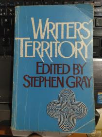 WRITER'S TERRITORY 英文原版 24开