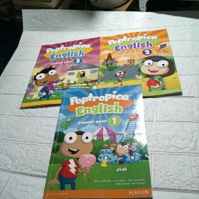 Poptropica English STUDENT BOOK1-3(三本合售 平装 16开 详情看图)