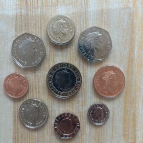 女王肖像 硬币
