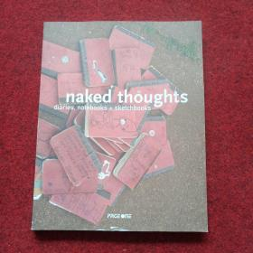 naked thoughts diaries.notebooks+sketchbooks