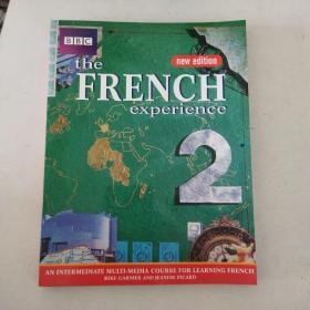 【外文原版】 THE FRENCH EXPERIENCE 2 COURSE BOOK 法语体验2课程手册