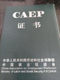 caep证书皮