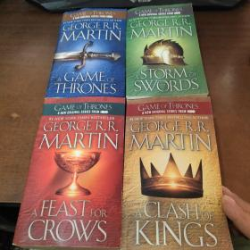 A Game of Thrones (A Song of Ice and Fire, Book ) 等 4本和售.见图片