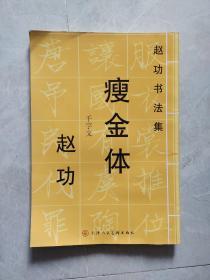 赵功书法集:瘦金体·千字文