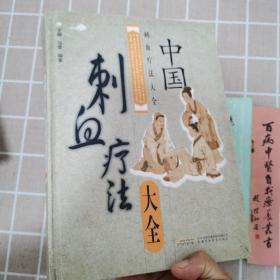 中国刺血疗法大全(精装大开本)