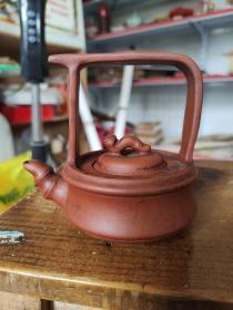 崔峰制陶款紫砂壶