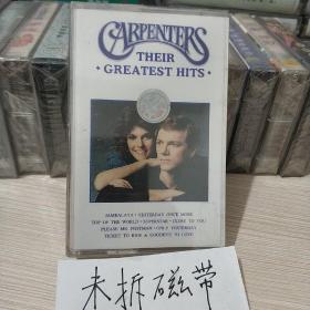 卡朋特 畅销金曲精选 未拆封磁带