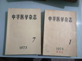 中华医学杂志1973年全含创刊